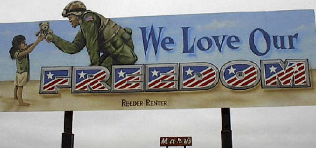 Hand Painted Billboard