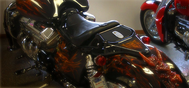Airbrushed Motorcycle 1